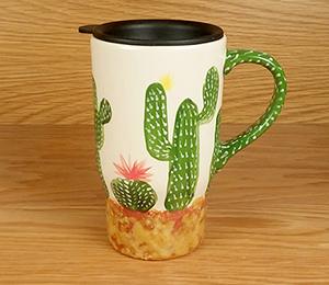 Hillsboro Cactus Travel Mug