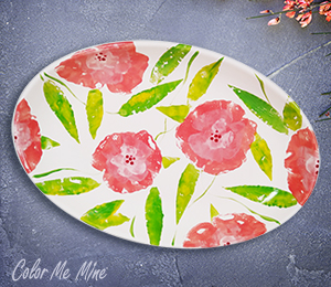 Hillsboro Floral Paper Stamping