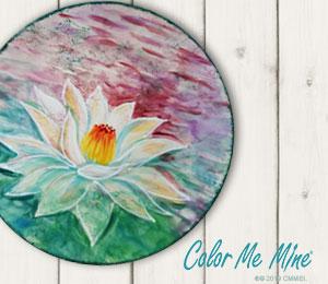 Hillsboro Lotus Flower Plate